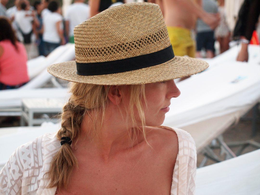 Anne im Sommerurlaub auf Ibiza