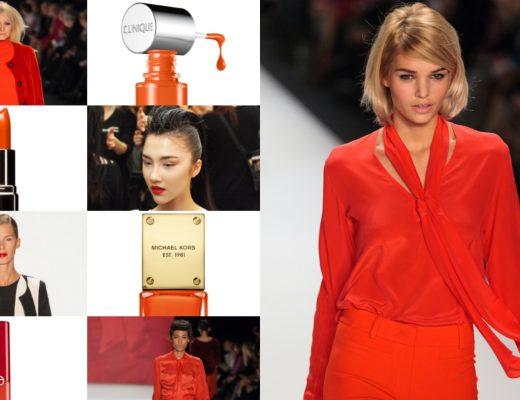 Herbst-Trend Orange