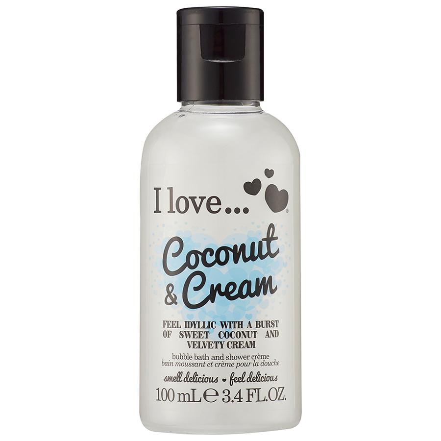 I love... Limited Edition Mini Coconut & Cream Duschgel