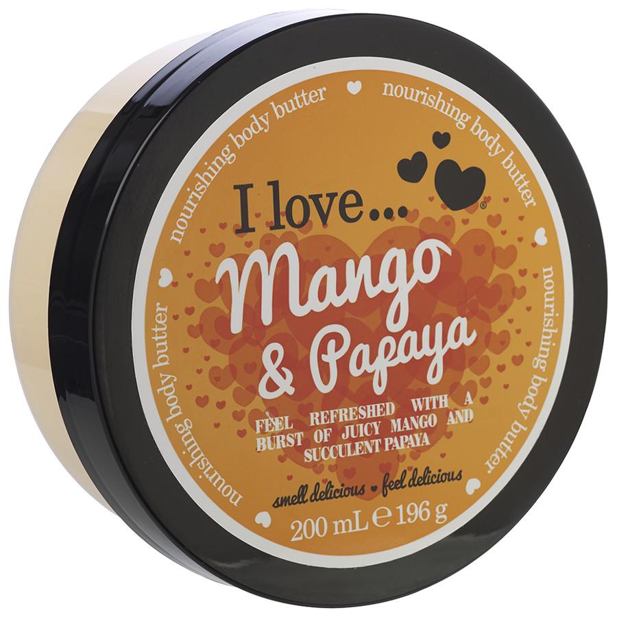 I love... Mango & Papaya Nourishing Body Butter Körperbutter