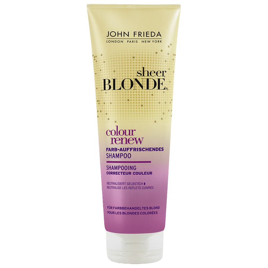 John Frieda Sheer Blonde Colour Renew Farbauffrischendes Shampoo
