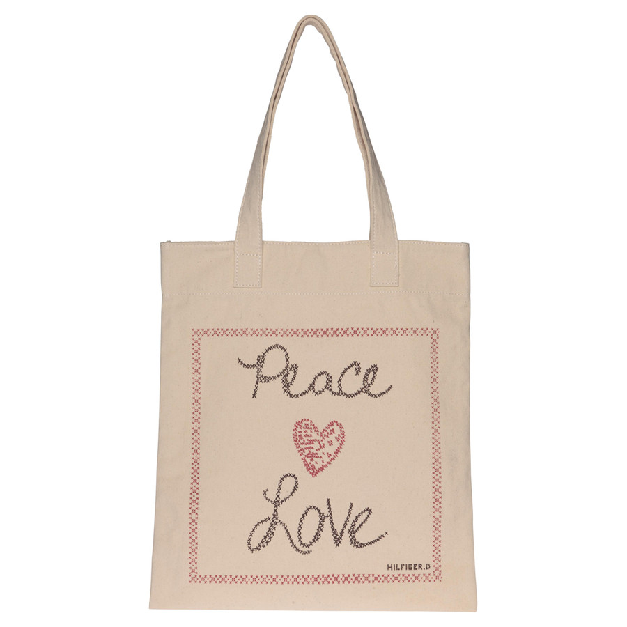 Tommy Hilfiger Shopper Peace and Love