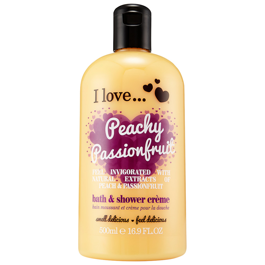 I love...Bath and Shower Peachy Passionfruit