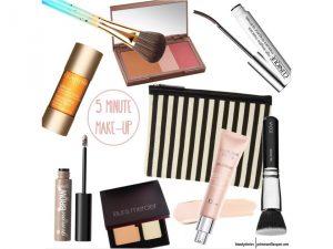 5-Minuten-Make-Up