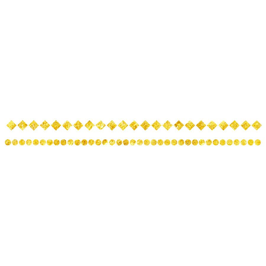 DCER Tattoos Gold Geometric Bracelet