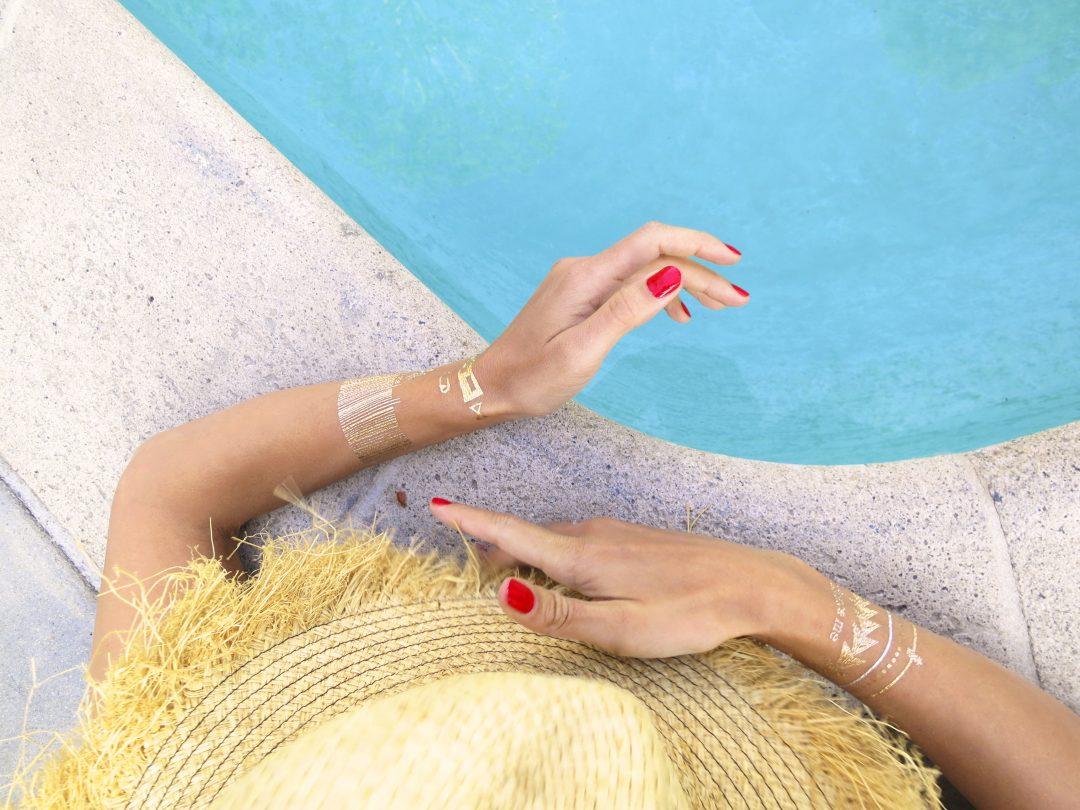 Sympathisch Tattoo Folie Entfernen Das Beste Von Sommer-must-have 2015: Body-tattoos Von AnaÏmon