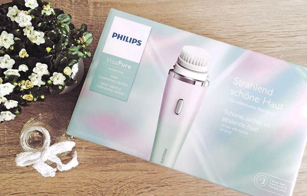 Die Philips VisaPure Gesichtsbürste im Test
