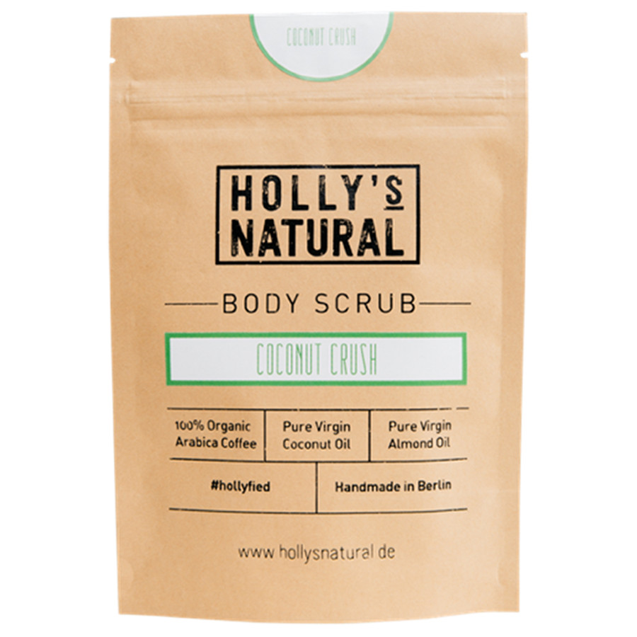 Holly's Natural Coconut Crush Körperpeeling