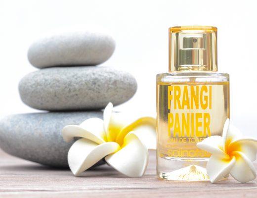 Solinotes Fleur de Frangipanier ist eine originelle Kreation, in deren Mittelpunkt tropischer Frangipani steht.