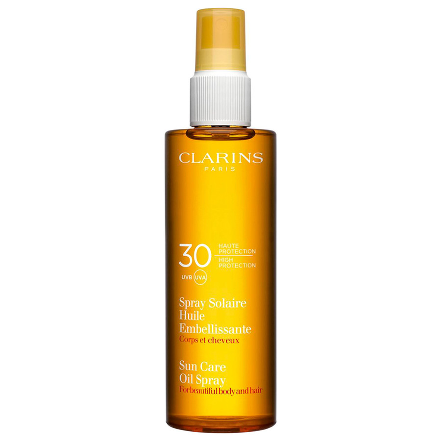 Clarins Spray Solaire Huile Embellissante