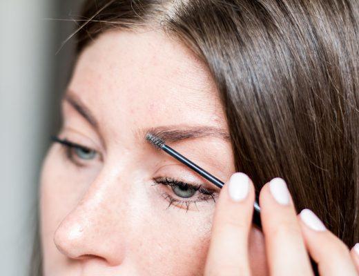 Perfekt gestylte Augenbrauen