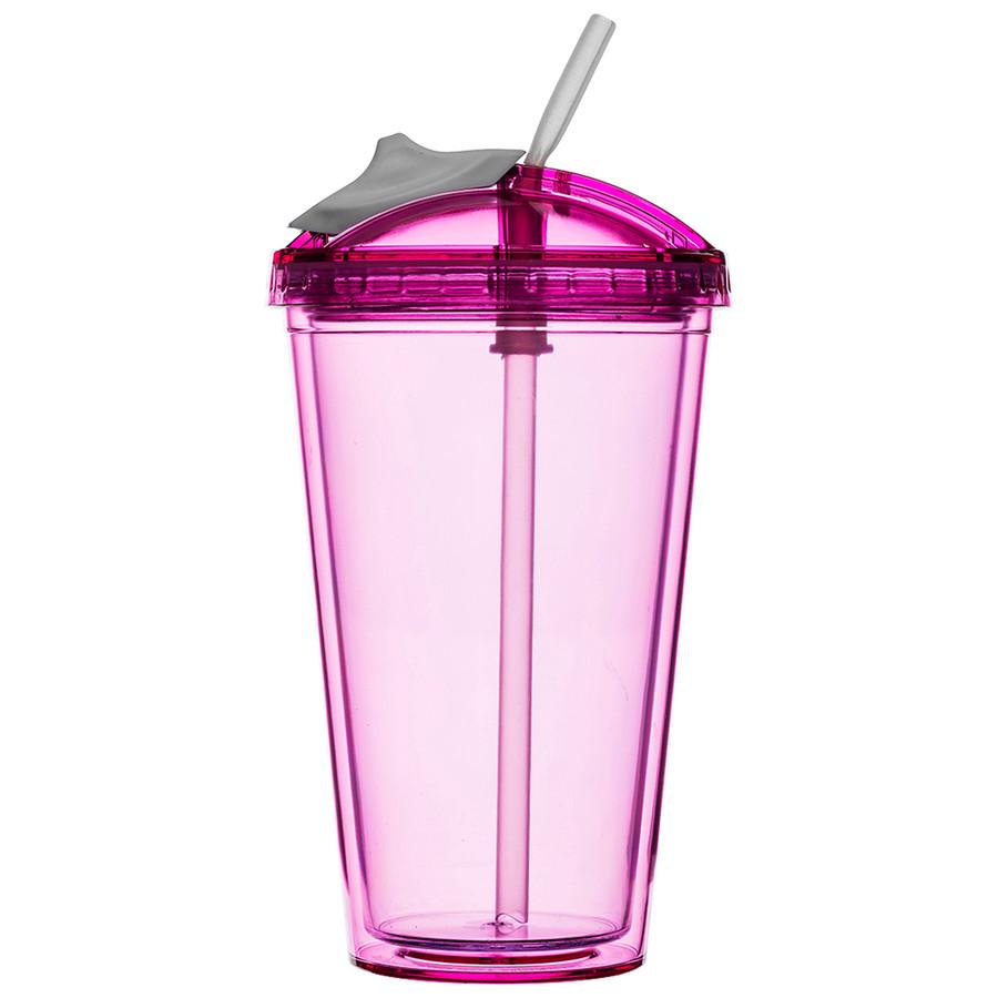 Sagaform Fresh Smoothiebecher pink