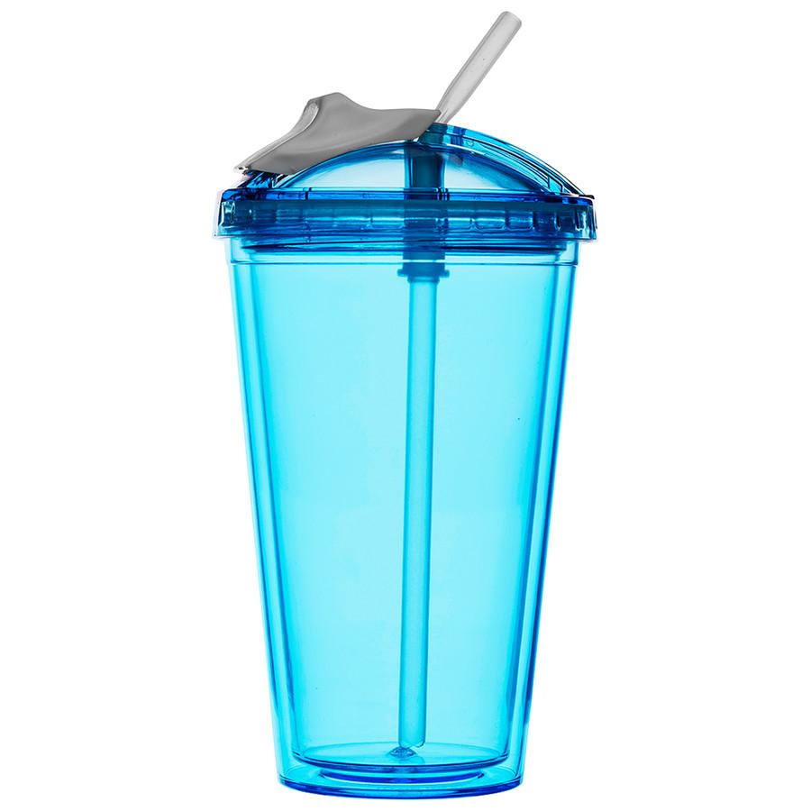 Sagaform Fresh Smoothiebecher blau