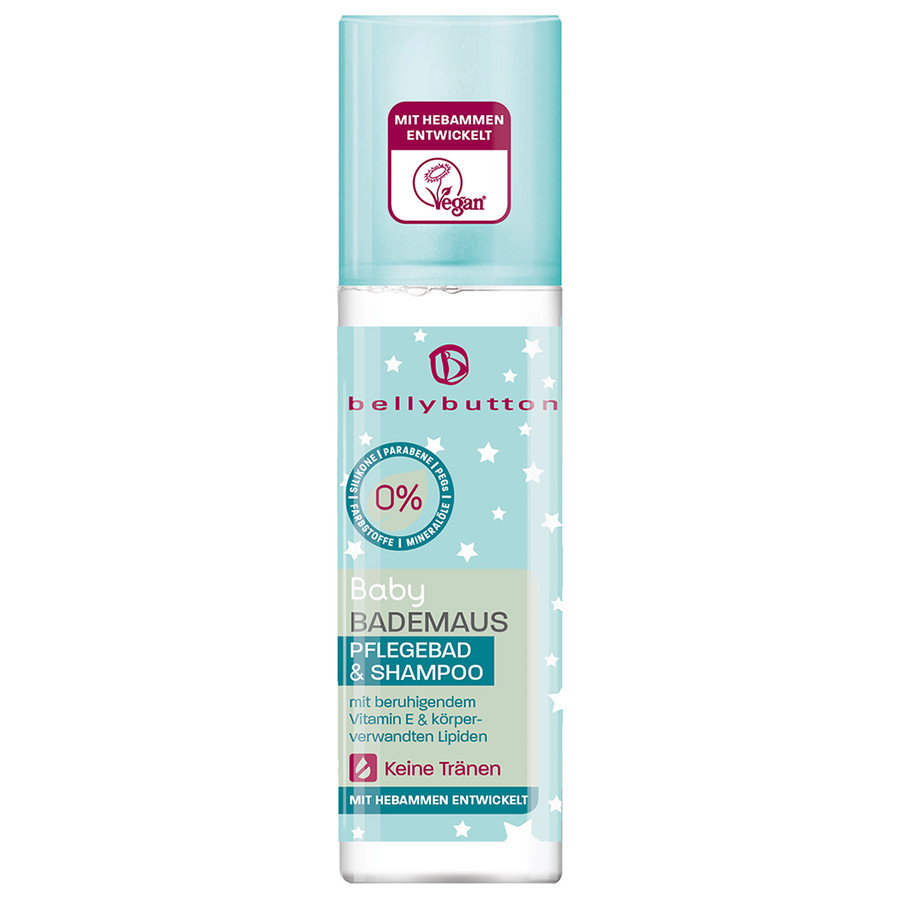 bellybutton Bademaus Pflegebad & Shampoo