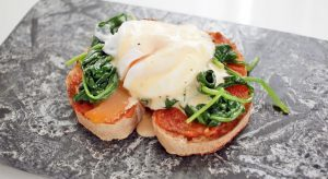 Eggs Forentine by Vicky