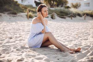 In vier Schritten zu schönen Beinen