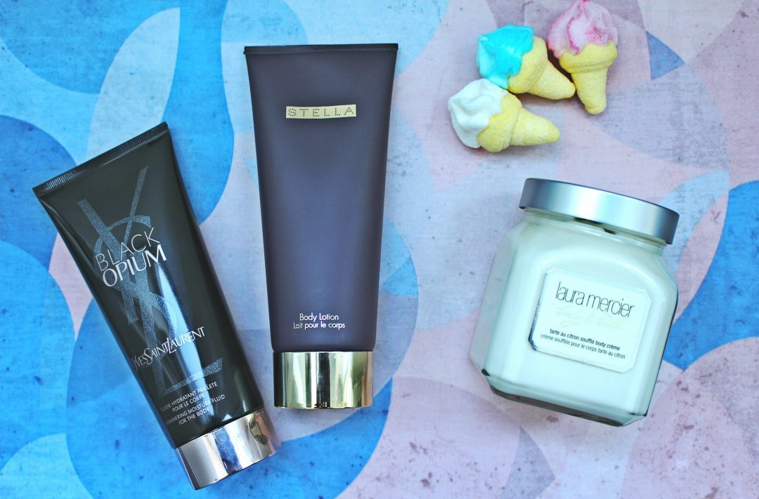 Parfümierte Bodylotions