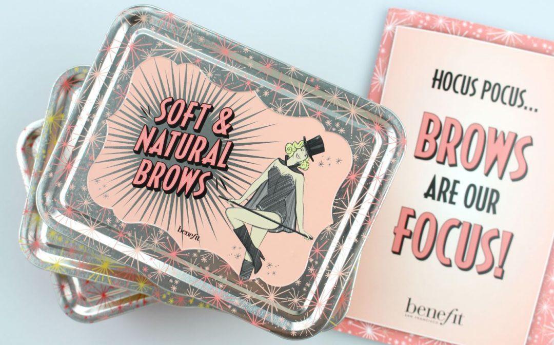 Perfekt gestylte Augenbrauen mit den neuen Benefit Brow Kits