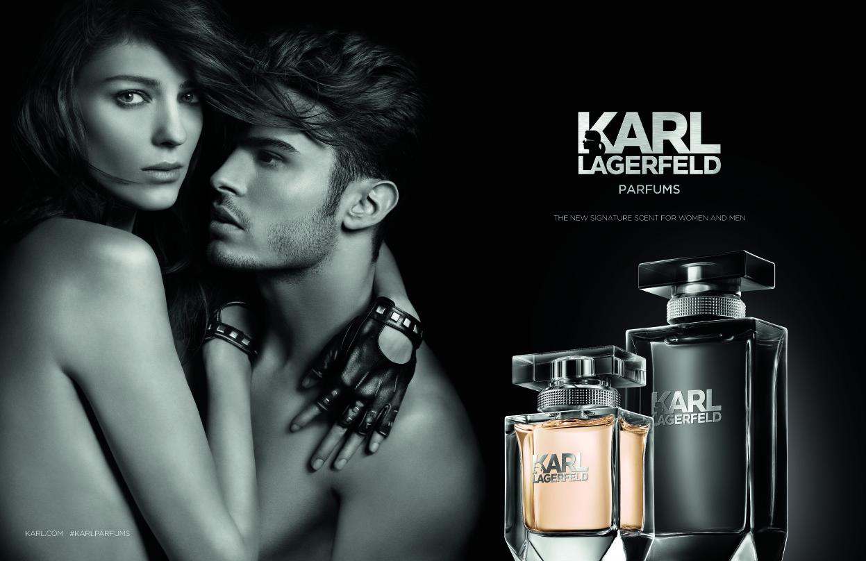 Karl-Lagerfeld-Duftkampagne