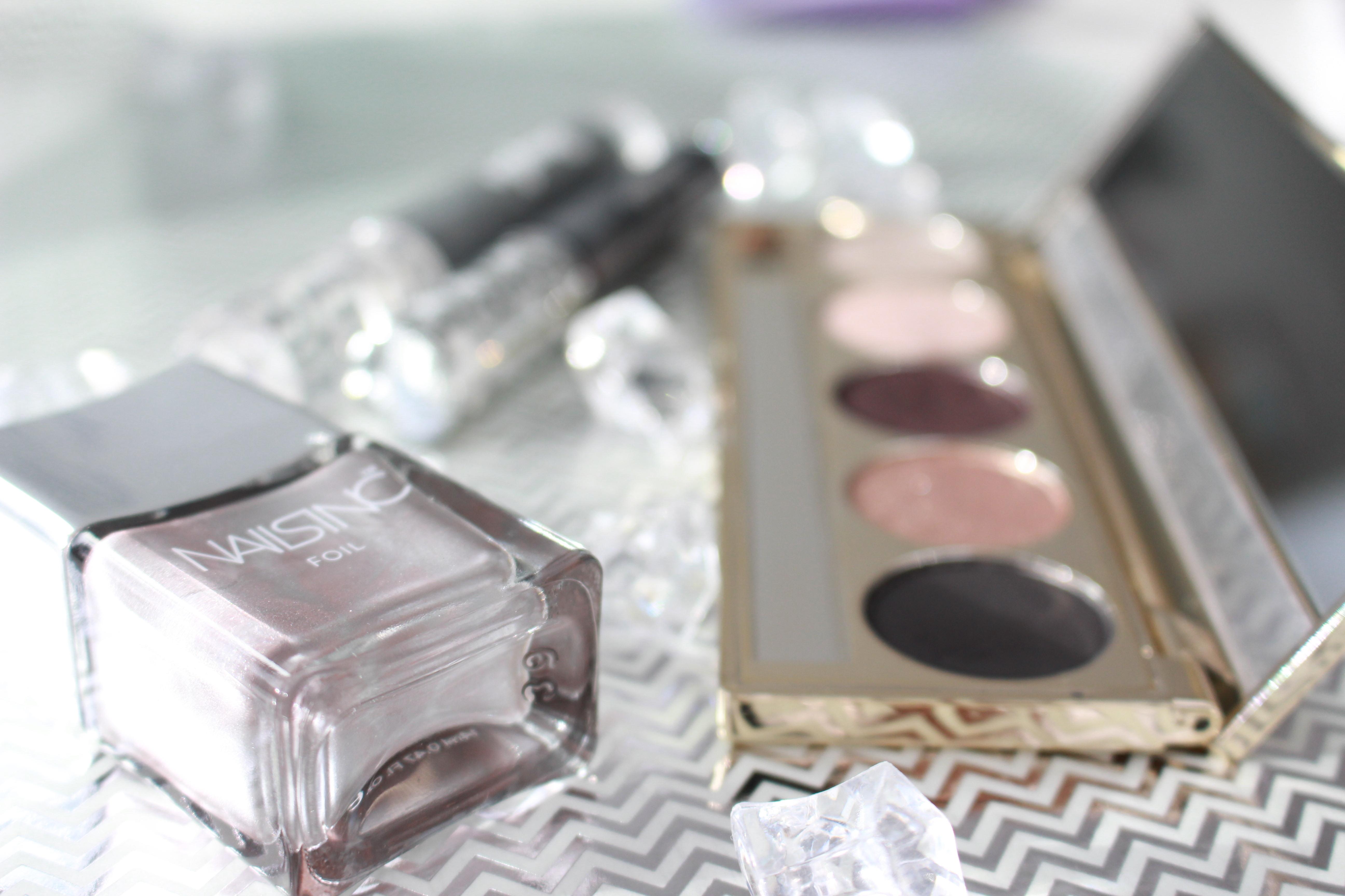 Make-up-im-Glitzer-Look