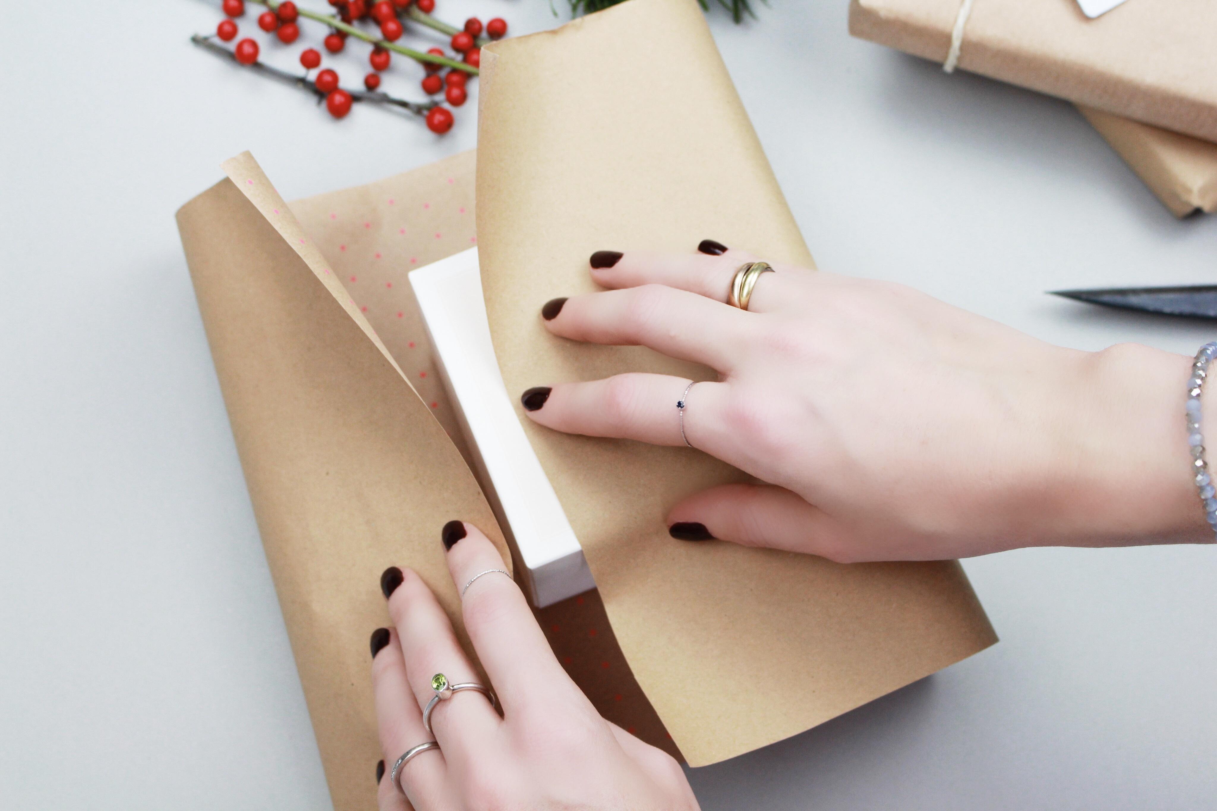 Geschenk-einpacken
