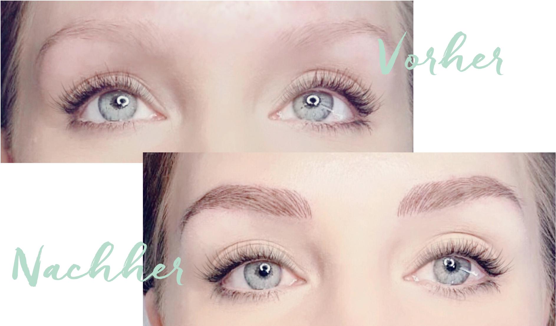 Perfekte Augenbrauen Mit Microblading Brauen Gel Und Co