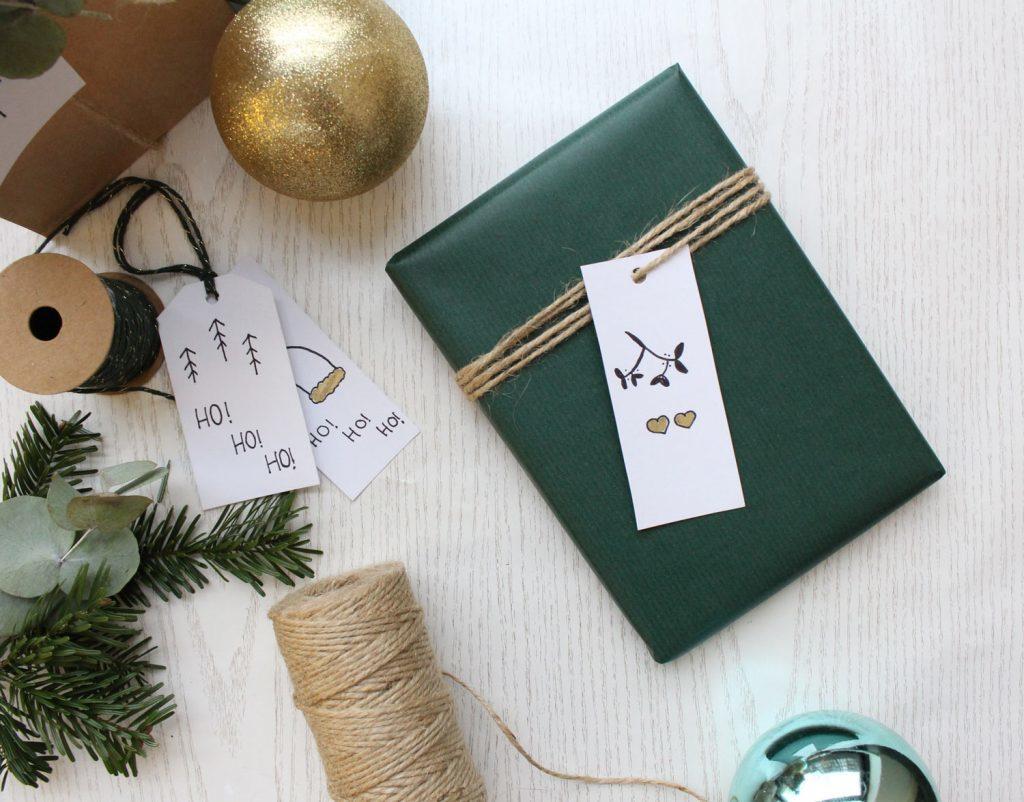 Klassische Geschenkverpackung