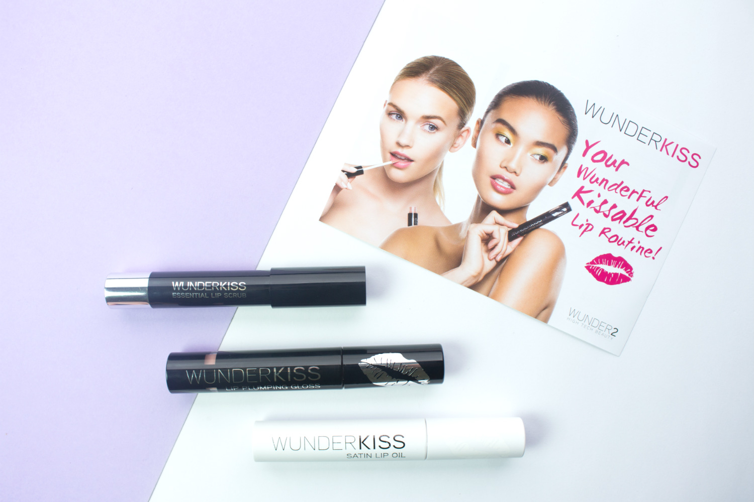 Wunder2 Wunderful Kissable Lip Set