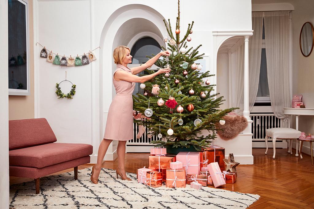 Weihnachtszeit ist Deko-Zeit: Baumdeko Douglas
