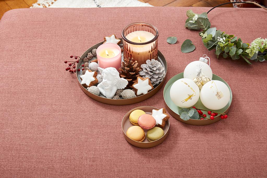 Weihnachtszeit ist Deko-Zeit: Dekorative Tabletts