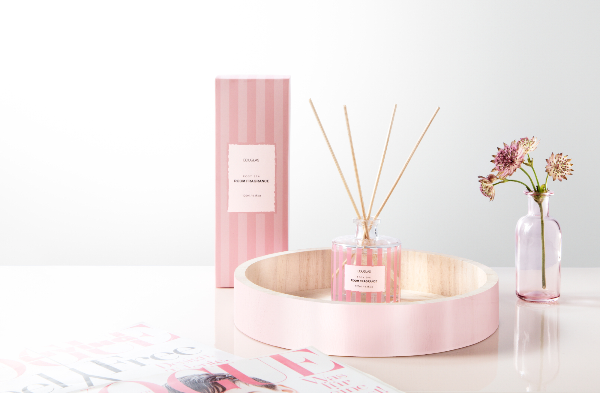 Rosy Spa: Wellness Candle